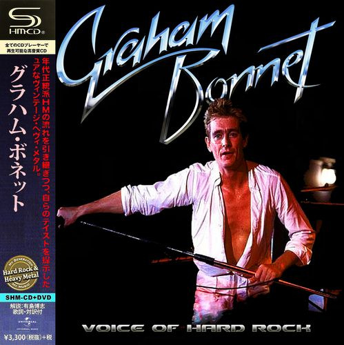 Graham Bonnet - Voice of Hard Rock [Compilation] (2018) MP3